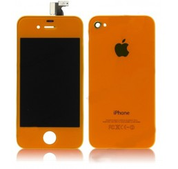 Complete iPhone 4S vervangingsset (Oranje)