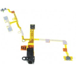 Audio Jack Flex Cable (Zwart)