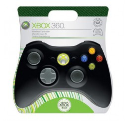Wireless xbox 360 Controller (Black)