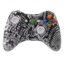 Xbox 360 Controller case-mod pattern series (Snake Black)