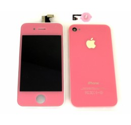 Complete iPhone 4 vervangingsset (Roze)