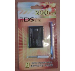 DS Lite battery pack 2000mAh met stylus