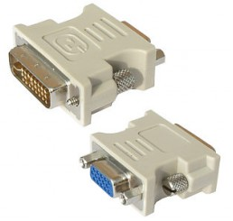 DVI-I Male - VGA adapter