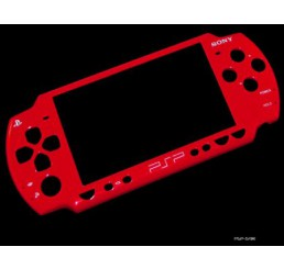 Front Faceplate voor PSP 2000 *Rood*