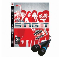 Disney Sing It: High School Musical 3: Senior Year (2x Microfoon Bundel)