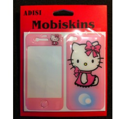 iPhone 4 skin - Hello Kitty (Roze)