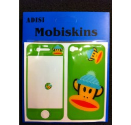 iPhone 4 skin - Paul Frank Aapje (Groen)