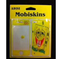 iPhone 4 skin - SpongeBob (Geel / Groen)