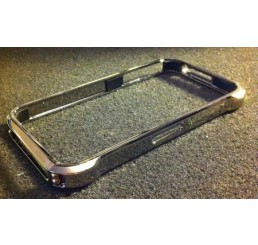 iPhone 4 Vapor case (donker Zilver)