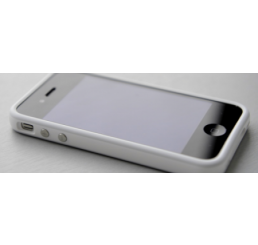 iPhone 4G siliconen bumper - Wit