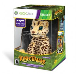 Kinectimals + Cheetah Xbox 360