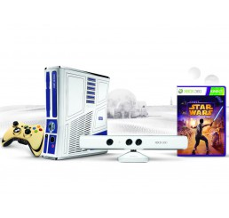 Xbox 360 Slim 320 GB + Kinect Limited edition Star wars (x360Key)