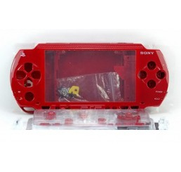 PSP 1000 behuizing inclusief knoppen - red (not metallic)