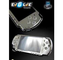 PSP 2000 Evolve Chrome faceplate