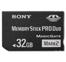 32 Gb High Speed Pro Duo Memorystick (Bulk)