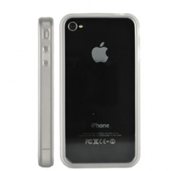 iPhone 4G siliconen bumper - Transparant
