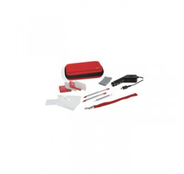 Speedlink 12 in 1 Starter Kit voor de Nitendo 3DS, DSi - Power Edition - Rood