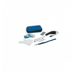 Speedlink 12 in 1 Starter Kit voor Nintendo 3DS, DSi - Power Edition - Blauw