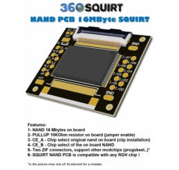 360 Squirt - Nand PCB 16mb