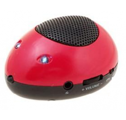 Super Mini Speaker 'Mouse' - Rood