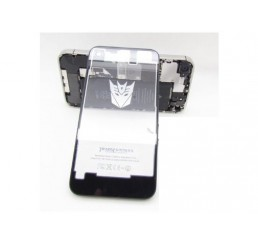 iPhone 4S Achterkant paneel (transparant) *Transformers logo*