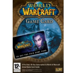 World of Warcraft Pre-paid card (60 dagen)