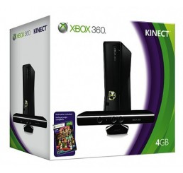 Xbox 360 Slim 4GB (Bulk)   Kinect (Black)   Kinect Adventures   X360key